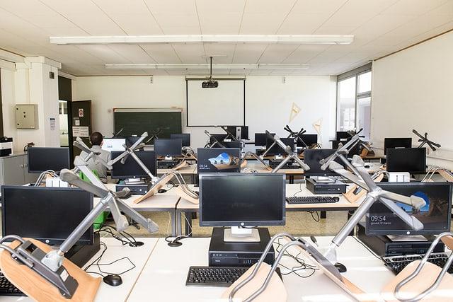 Im Kampf gegen die Corona-Pandemie wurden die Schulen geschlossen.