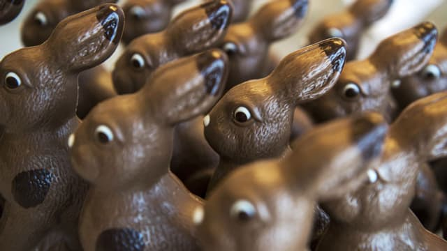 Schokolade-Osterhasen