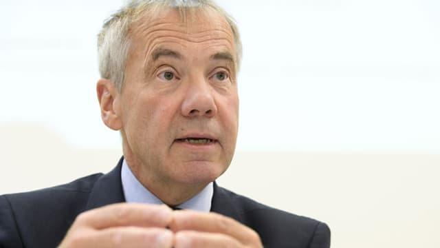 Guido Marbet, abtretender Präsident der Konferenz für Kindes- und Erwachsenenschutz.