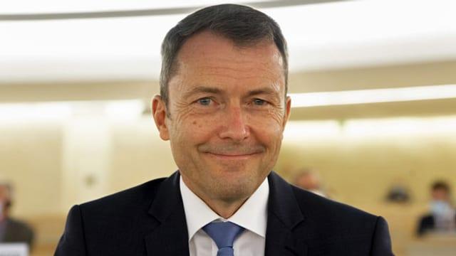 Der Schweizer Uno-Botschafter Jürg Lauber.