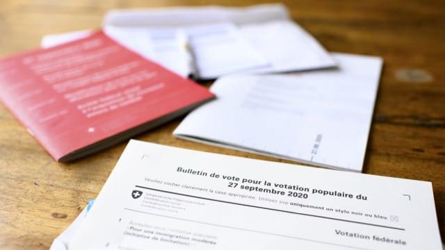Schlägt die Schweiz am 27. September den Stimmbeteiligungsrekord?