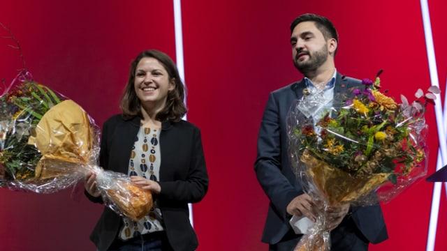 Kann die neue SP-Führungsspitze Wermuth/Meyer die Partei aus dem Tief führen?