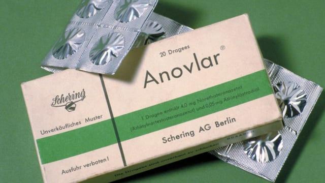 """Die Pille """"Anovlar"""" war die erste ihrer Art auf dem deutschen Markt."""