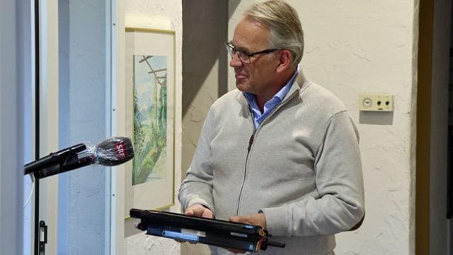 Christoph Solenthaler, Geschäftsführer der Sorec in Gossau SG.