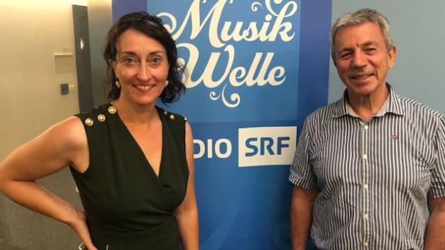 Res Schmid ist Gast bei Renate Anderegg im SRF Musikwelle Brunch.