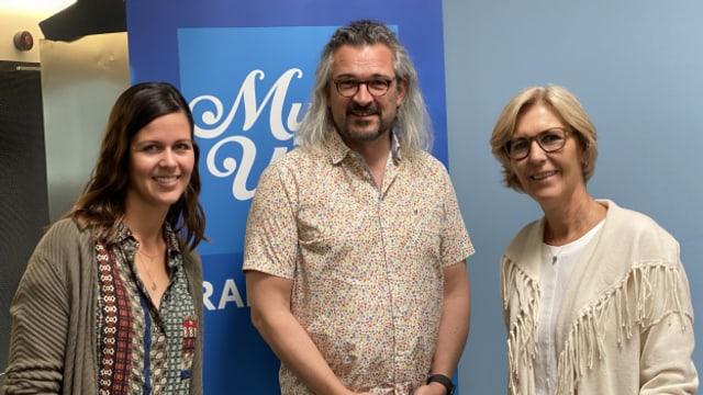 Melanie und Annemarie Oesch zu Gast bei Dani Häusler im SRF Musikwelle Brunch.