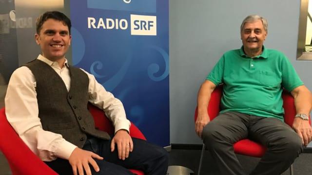 Willi Schuler ist Gast bei Roman Portmann im «SRF Musikwelle Brunch».