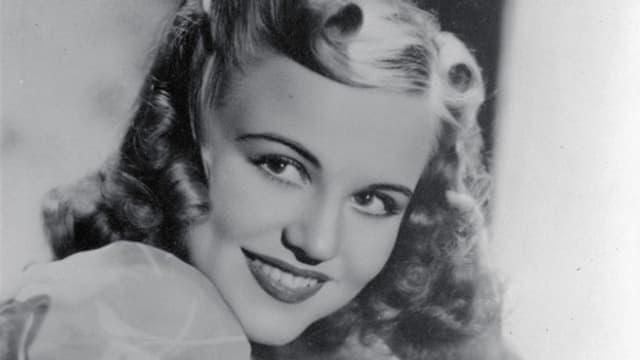 Undatierte Aufnahme der amerikanischen Sängerin und Songwriterin Peggy Lee (1920-2002).