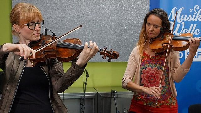 Als eine von vier Formationen verwöhnten Rämschfädra das Publikum am Schweizer Musiktag 2020.