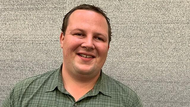 Simon Haller ist Vollblut-Akkordeonist.
