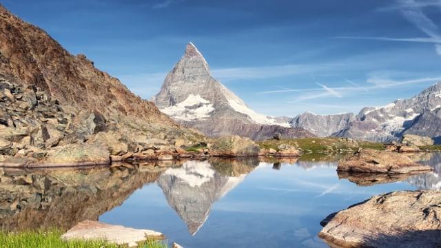 Das Matterhorn ist einer der bekanntesten Berge der Welt.