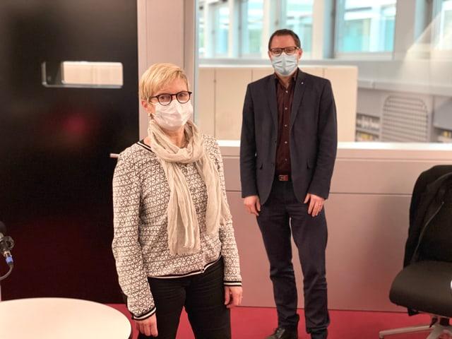 Beatrice Baselgia da la PS defenda proxima emna en il Cussegl grond il modell C, René Epp da la PCD defenda il modell E.