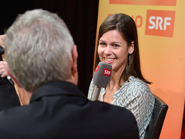 Melanie Oesch im «Persönlich».