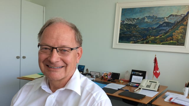Nach 17 Jahren verlässt Regierungsrat Hans Wallimann die Obwaldner Finanzdirektion.