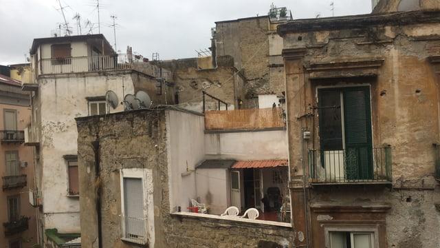 Alte Häuser, Dachterrasse