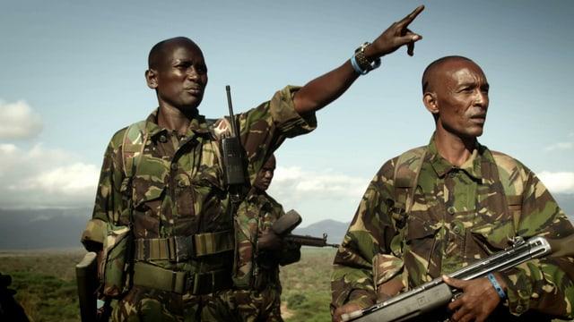 Afrikanische Ranger