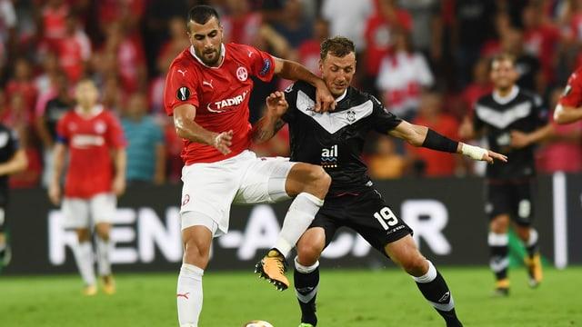 Lugano ist gegen Hapoel Be'er Sheva auf Punkte angewiesen.