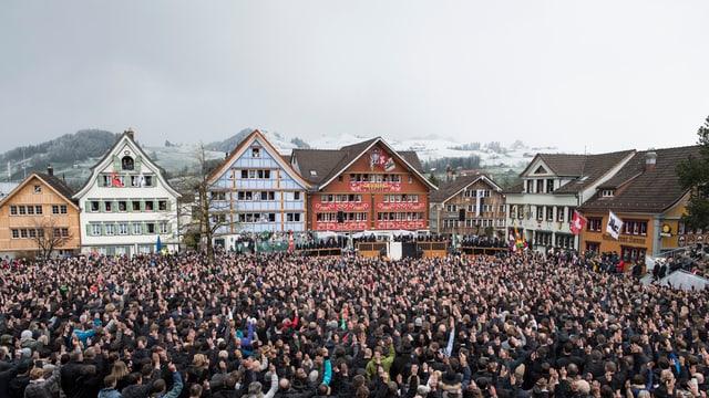 Il cumin dal chantun Appenzell Dadens dals 24 d'avrigl 2016.