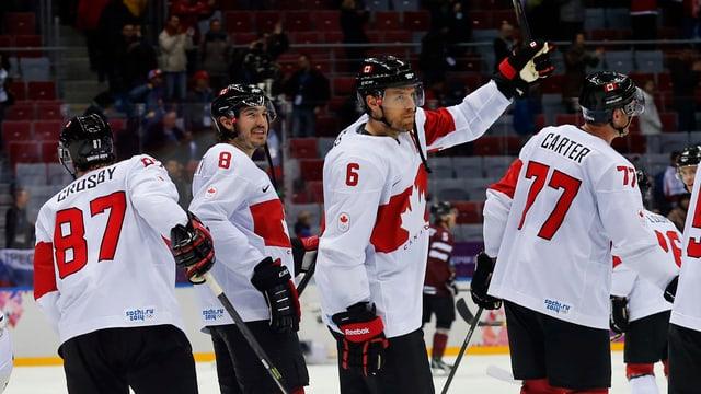 Kanada holte 2010 im eigenen Land Olympia-Gold - am Freitag kämpfen die «Ahornblätter» um den Finaleinzug.