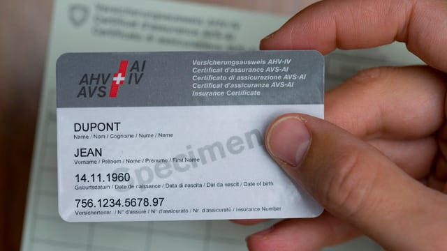 AHV-Ausweis