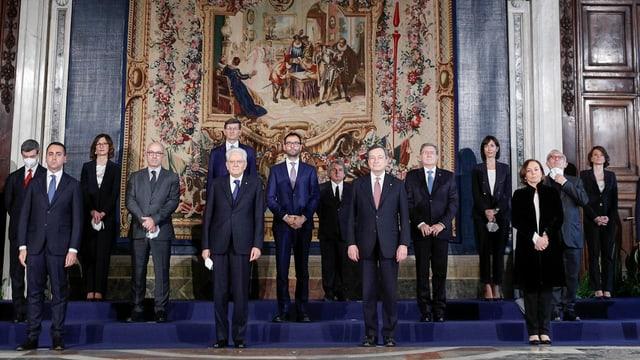 Draghi und sein Kabinett