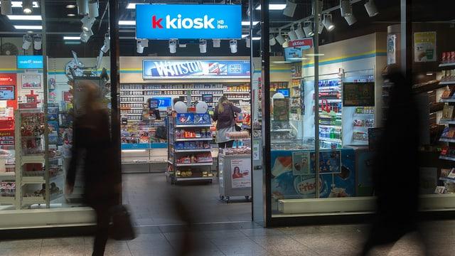 En l'avegnir èsi era pussibel da prender si in credit direct al kiosk.