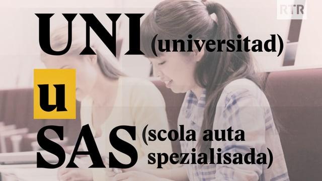 Laschar ir video «Universitad u Scola auta spezialisada?»