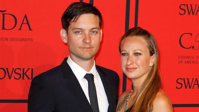 Tobey Maguire und Jennifer Meyer.