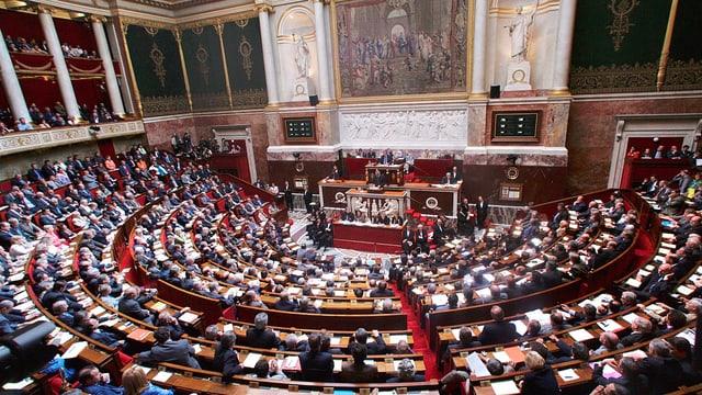 Nationalversammlung Paris.