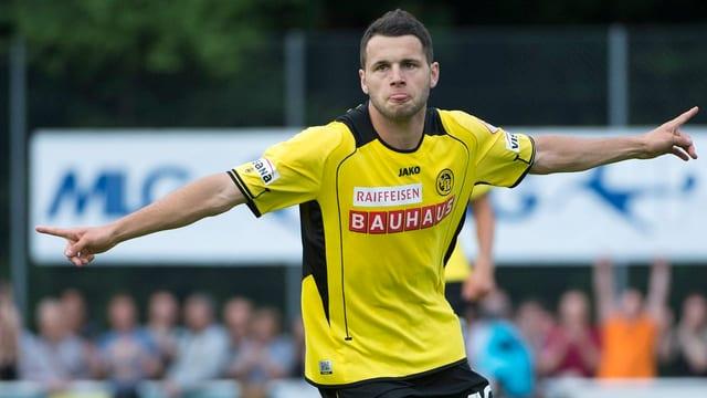 Jubelt Steffen auch gegen seine Ex-Klub Thun?