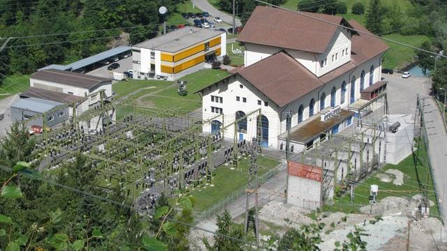 La centrala a Seglias en Tumleastga.