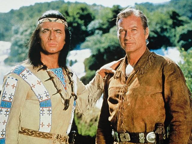 Indianer und Cowboy