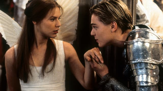 Eine Filmszene aus Romeo und Julia.