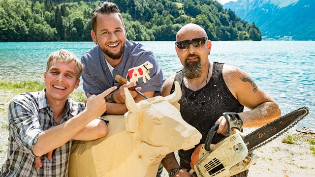 Video ««Donnschtig-Jass» live aus Zweisimmen BE mit Trauffer» abspielen
