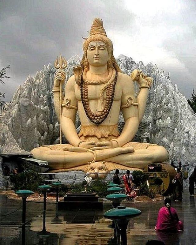 Statua dal dieu Shiva