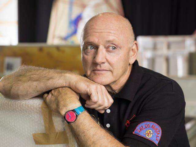 Porträt von Rolf Knie.