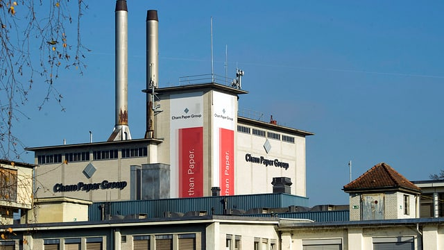Fabrik der Cham Paper Group.