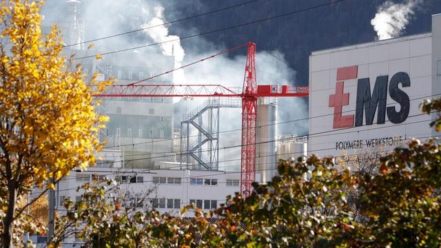 Fabrikgebäude Ems-Chemie