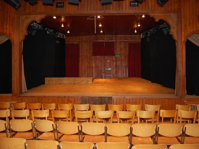 Der Theatersaal im Bären Trubschachen