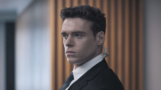 Richard Madden von Game of Thrones in seiner neuen Rolle als Bodyguard David Budd.