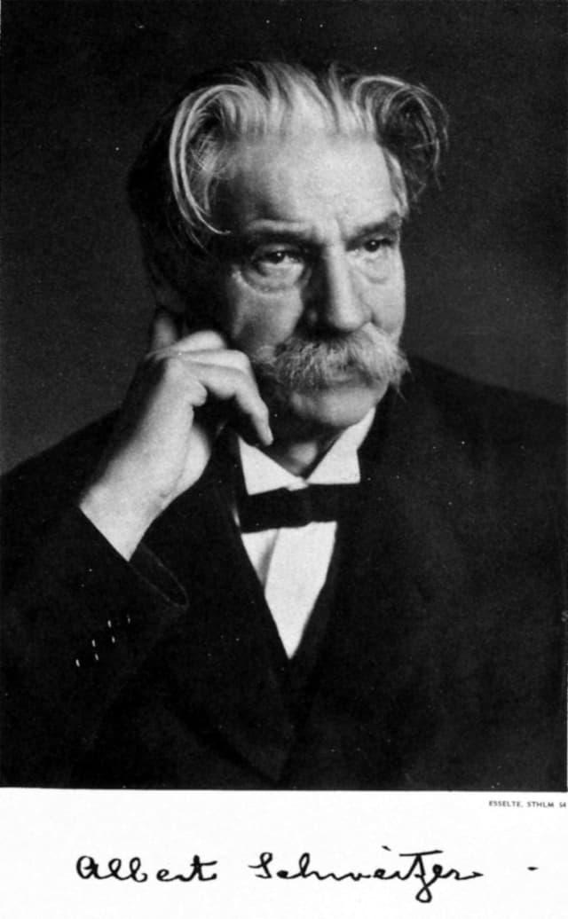 Albert Schweizer, offizielles Nobelpreis-Porträt