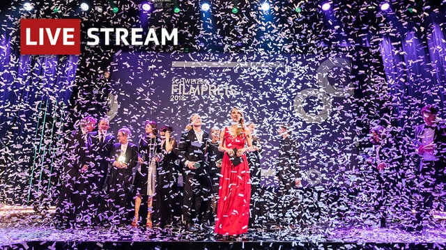 Livestream: Schweizer Filmpreis 2019