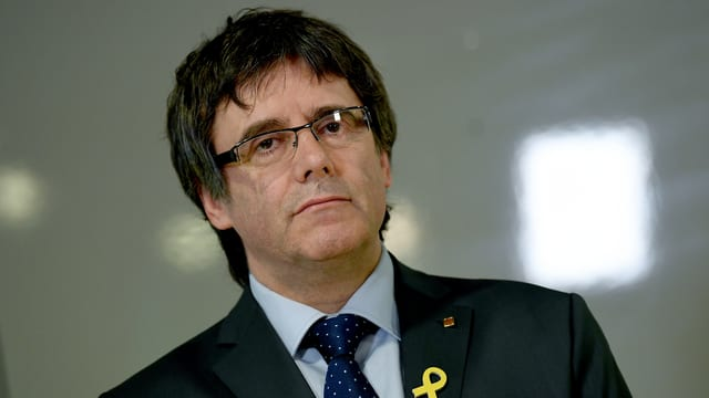 Purtret da Carles Puigdemont.