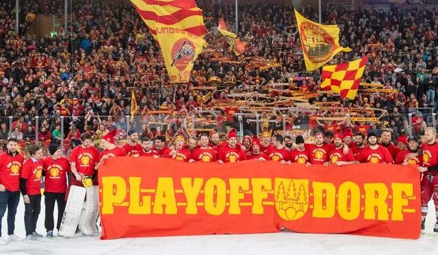 SCL gewinnt gegen Bern und ist damit in den Play-offs