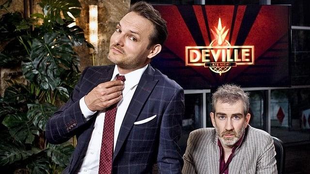 Dominic Deville und Manuel Stahlberger