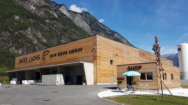 Firmengebüude Swiss Lachs