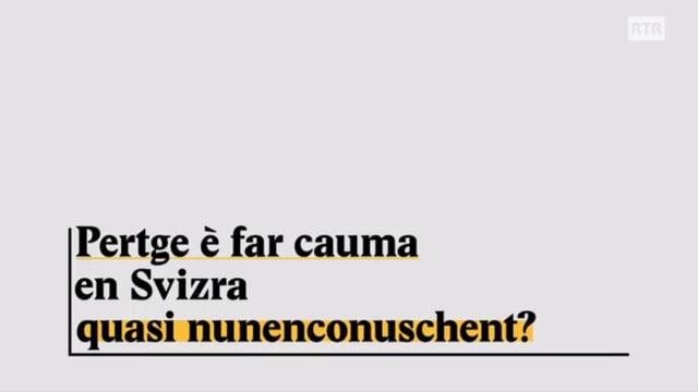 Laschar ir video «Explainer: Pertge è far chauma en Svizra quasi nunenconuschent?»