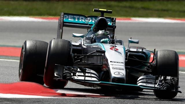 Rosberg gewinnt den GP von Spanien.