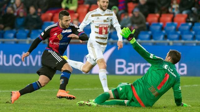 Basel steuert auf den nächsten Titel zu.