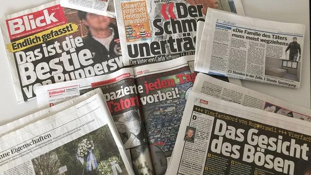 Video «Mordfall Rupperswil: Journalismus oder Voyeurismus?» abspielen